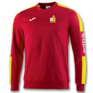 East Down Athletics Club Champion 4 Sweatshirt Red/Yellow - Adults 2018